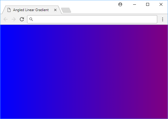 A blue to purple angled linear gradient.