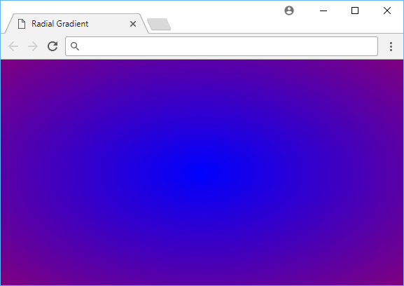 A blue to purple radial gradient.