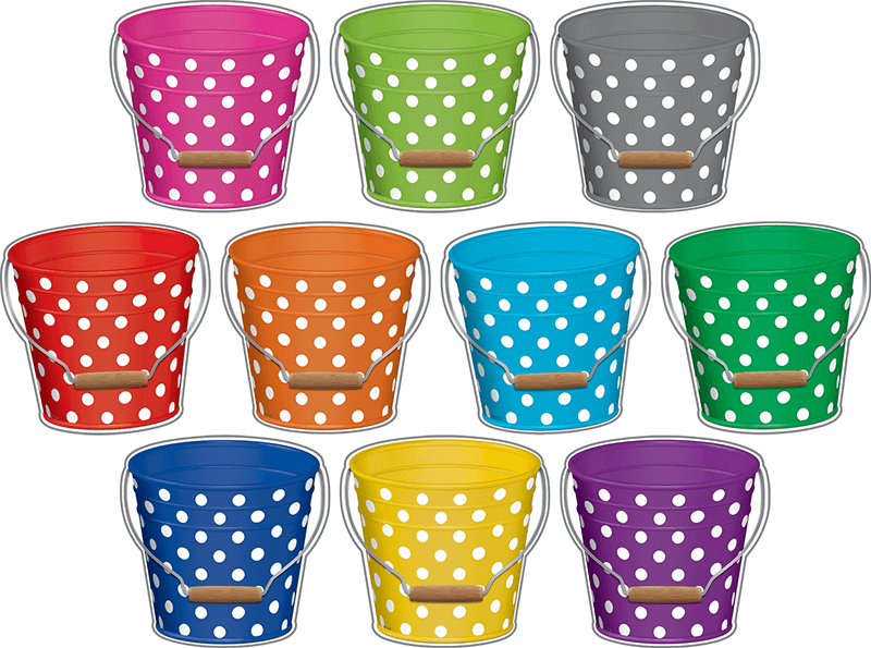 Sets are like these buckets: they're unique.