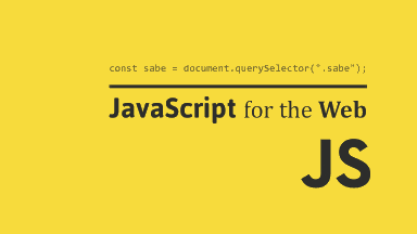 JavaScript for the Web hero image