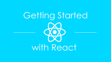 Getting Started with React hero image