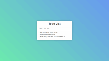 Vue.js Todo List App with Vuex
